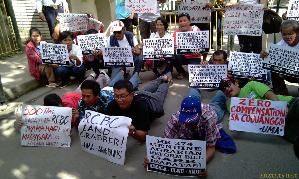 hacienda luisita case analysis Background farm or farmworkers agrarian reform movement is one of the parties to the controversial hacienda luisita case now pending before the supreme court.